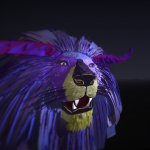 Ice Lion in VR